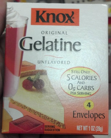 Glycerin-gelatin-mold
